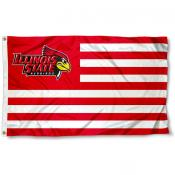 Illinois State University Stripes Flag