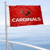 Incarnate Word Cardinals Boat and Mini Flag