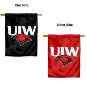 Incarnate Word Cardinals Logo Double Sided House Flag
