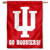 Indiana Go Hoosiers House Flag