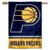 Indiana Pacers Logo Double Sided House Flag
