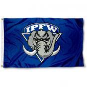 Indiana Purdue Mastodons Logo Flag