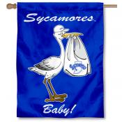 Indiana State Sycamores New Baby Flag