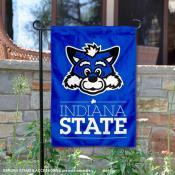 Indiana State Sycamores Sycamore Sam Garden Flag