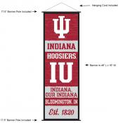 Indiana University Decor and Banner