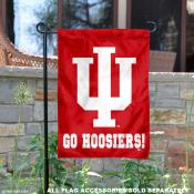 Indiana University Go Hoosiers Garden Flag