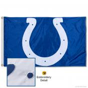 Indianapolis Colts Embroidered Nylon Flag