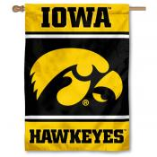 Iowa Hawkeyes Double Sided Banner
