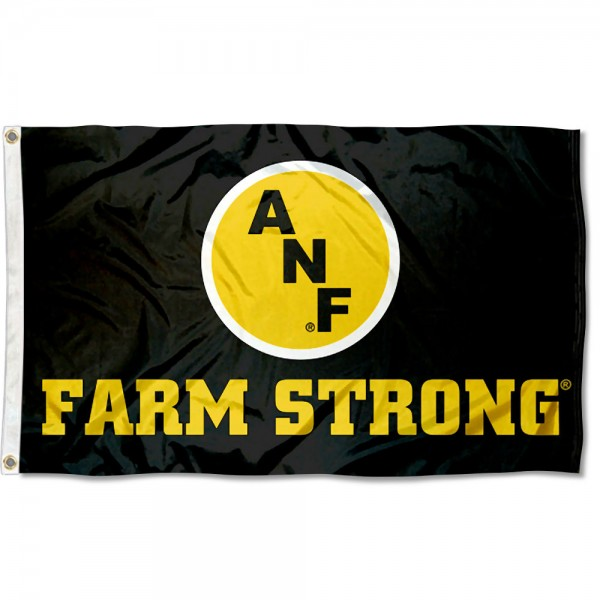 Iowa Hawkeyes Farm Strong Flag measures 3x5 feet, is made of 100% polyester, offers quadruple stitched flyends, has two metal grommets, and offers screen printed NCAA team logos and insignias. Our Iowa Hawkeyes Farm Strong Flag is officially licensed by the selected university and NCAA.