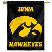 Iowa Hawkeyes House Flag