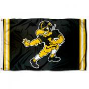 Iowa Hawkeyes Throwback Vault Logo Flag