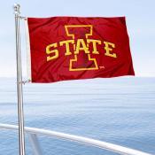 Iowa State Cyclones Boat and Mini Flag