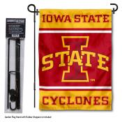 Iowa State Cyclones Garden Flag and Pole Stand Holder