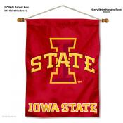 Iowa State Cyclones Wall Banner