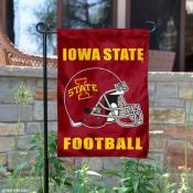 Iowa State University Helmet Yard Flag