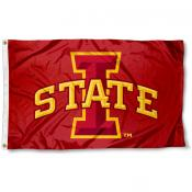 Iowa State University Polyester Flag