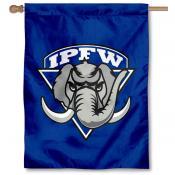 IPFW Mastodons Banner Flag