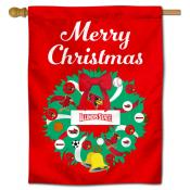 ISU Redbirds Happy Holidays Banner Flag