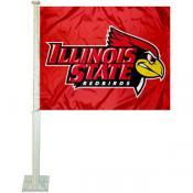 ISU Redbirds Logo Car Flag
