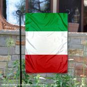 Italy Double Sided Garden Flag
