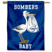 Ithaca Bombers New Baby Flag