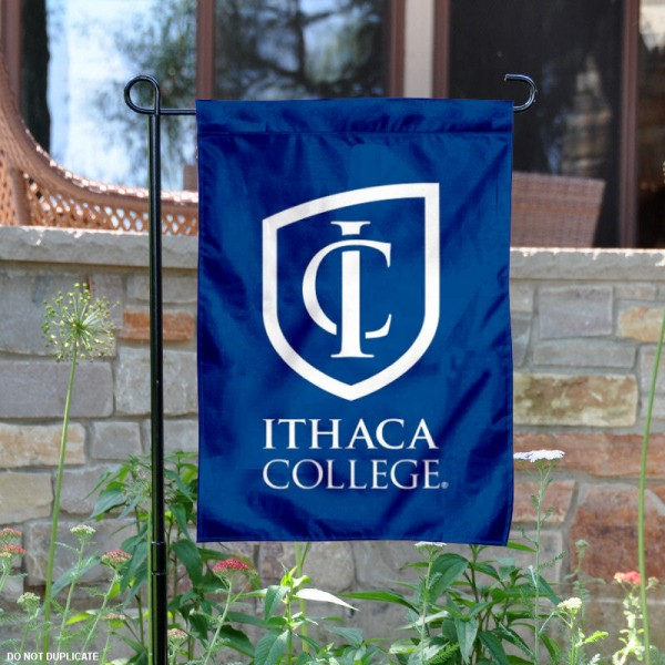 Ithaca College Bombers Garden Flag is 13x18 inches in size, is made of 2-layer polyester, screen printed university athletic logos and lettering. Available with Same Day Express Shipping, our Ithaca College Bombers Garden Flag is officially licensed and approved by the university and the NCAA.