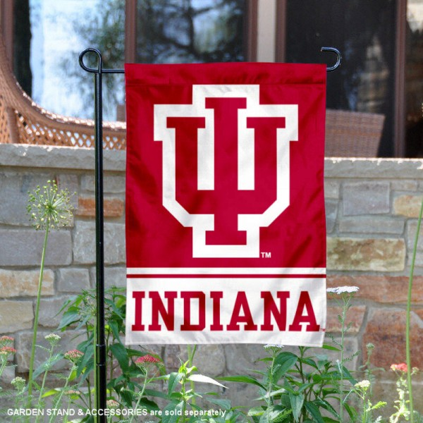 IU Hoosiers Garden Flag is 13x18 inches in size, is made of 2-layer polyester, screen printed logos and lettering. Available with Same Day Express Shipping, Our IU Hoosiers Garden Flag is officially licensed and approved by the NCAA.