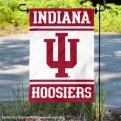 IU Hoosiers Garden Flag