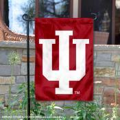 IU Hoosiers IU Logo Garden Flag