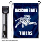 Jackson State Tigers Garden Flag and Pole Stand