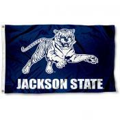 Jackson State Tigers Wordmark Flag