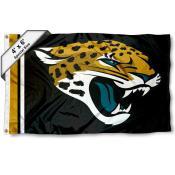 Jacksonville Jaguars 4x6 Flag