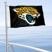 Jacksonville Jaguars Boat and Nautical Flag
