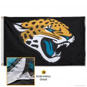 Jacksonville Jaguars Embroidered Nylon Flag