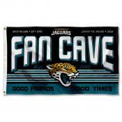 Jacksonville Jaguars Fan Cave Flag Large Banner