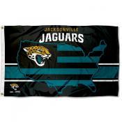 Jacksonville Jaguars USA Country Flag