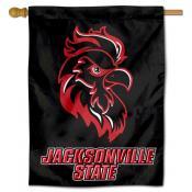 Jacksonville State Gamecocks Double Sided House Flag