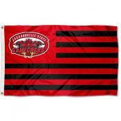 Jacksonville State Gamecocks Stripes Flag