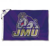 James Madison Dukes Large 4x6 Flag