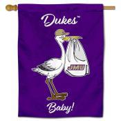 James Madison Dukes New Baby Flag