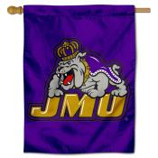 James Madison Dukes Throwback Logo Double Sided House Flag