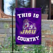 James Madison University Country Garden Flag
