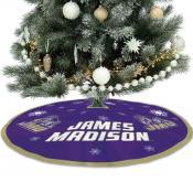 James Madison University Dukes Christmas Tree Skirt