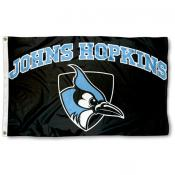 JHU Blue Jays Black Flag