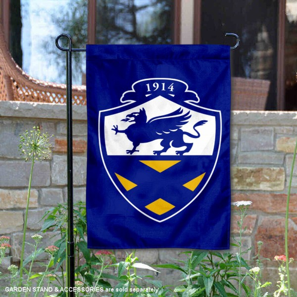 John and Wales Wildcats Wordmark Logo Garden Flag is 13x18 inches in size, is made of 2-layer polyester, screen printed university athletic logos and lettering, and is readable and viewable correctly on both sides. Available same day shipping, our John and Wales Wildcats Wordmark Logo Garden Flag is officially licensed and approved by the university and the NCAA.