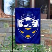 John and Wales Wildcats Wordmark Logo Garden Flag