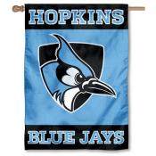 John Hopkins Blue Jays Double Sided Banner