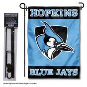 John Hopkins University Garden Flag and Stand