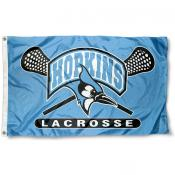 Johns Hopkins Blue Jays Lacrosse Flag