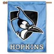 Johns Hopkins Blue Jays Light Blue Double Sided House Flag